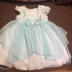 Never worn blue dress (size 3)